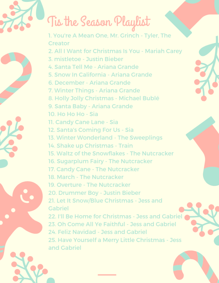 My Christmas Playlist 2018