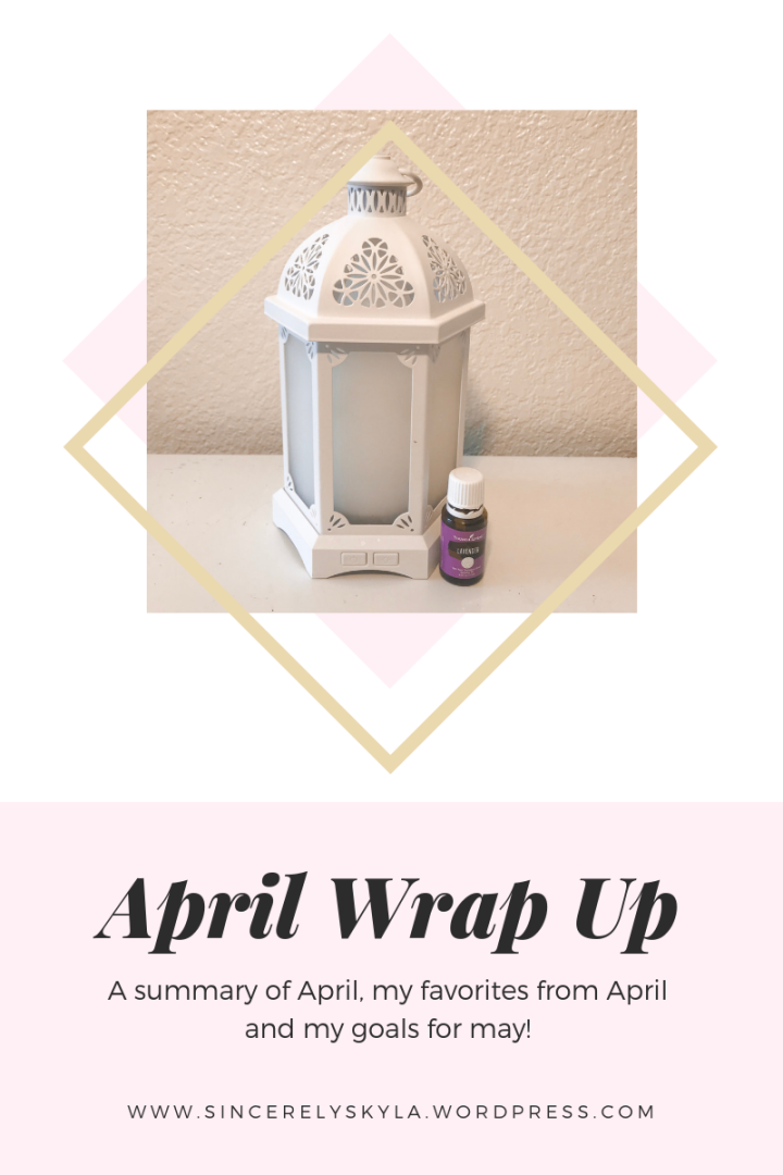 April Wrap Up 2019
