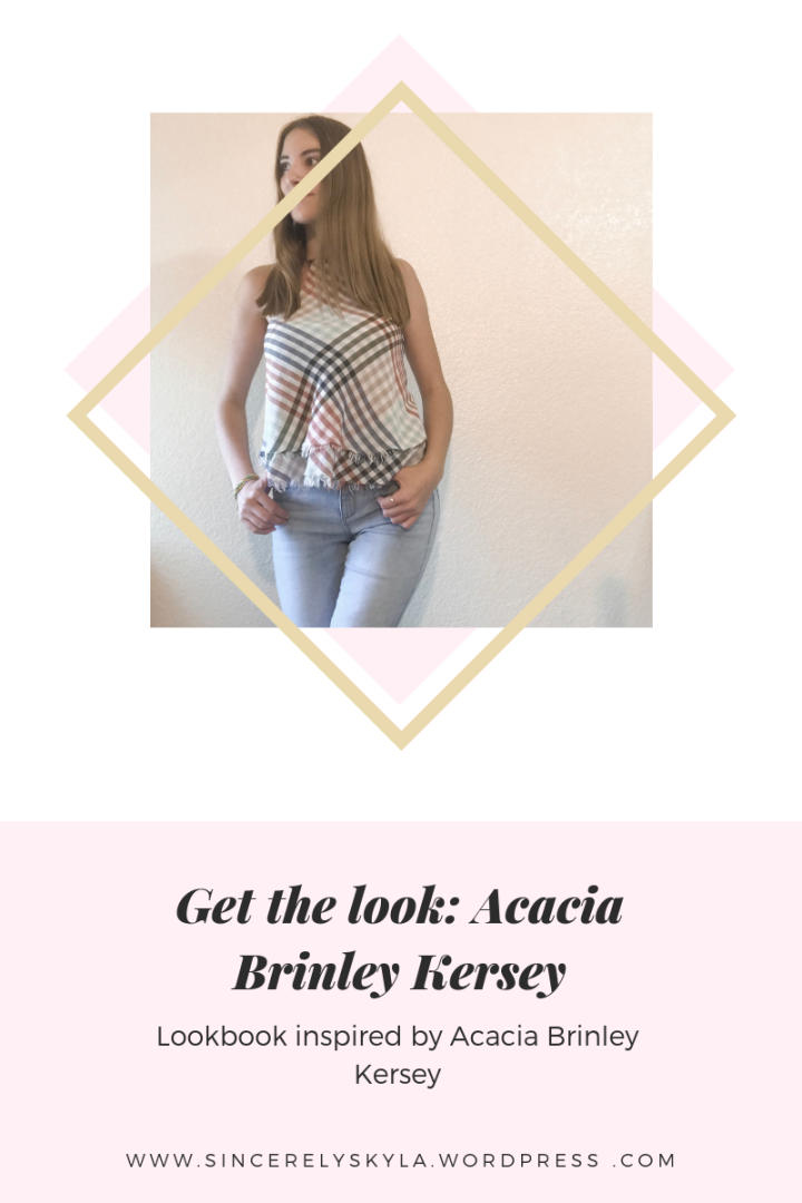 Get the look: Acacia Brinley Kersey