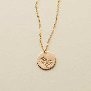 October_Handstamped_birth_flower_disc_necklace_0000_20190418_OctoberMarigold_600x@2x